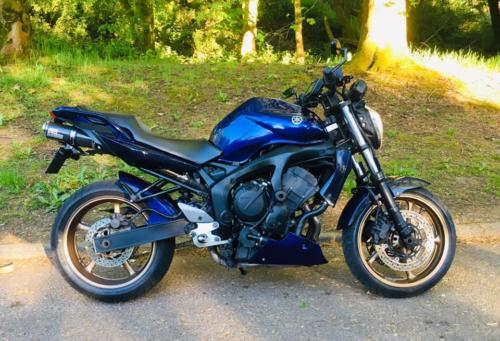 Yamaha Fazer FZ6 (2004, 54 plate) £2,850 (28,000 miles) - private plate G***BAD